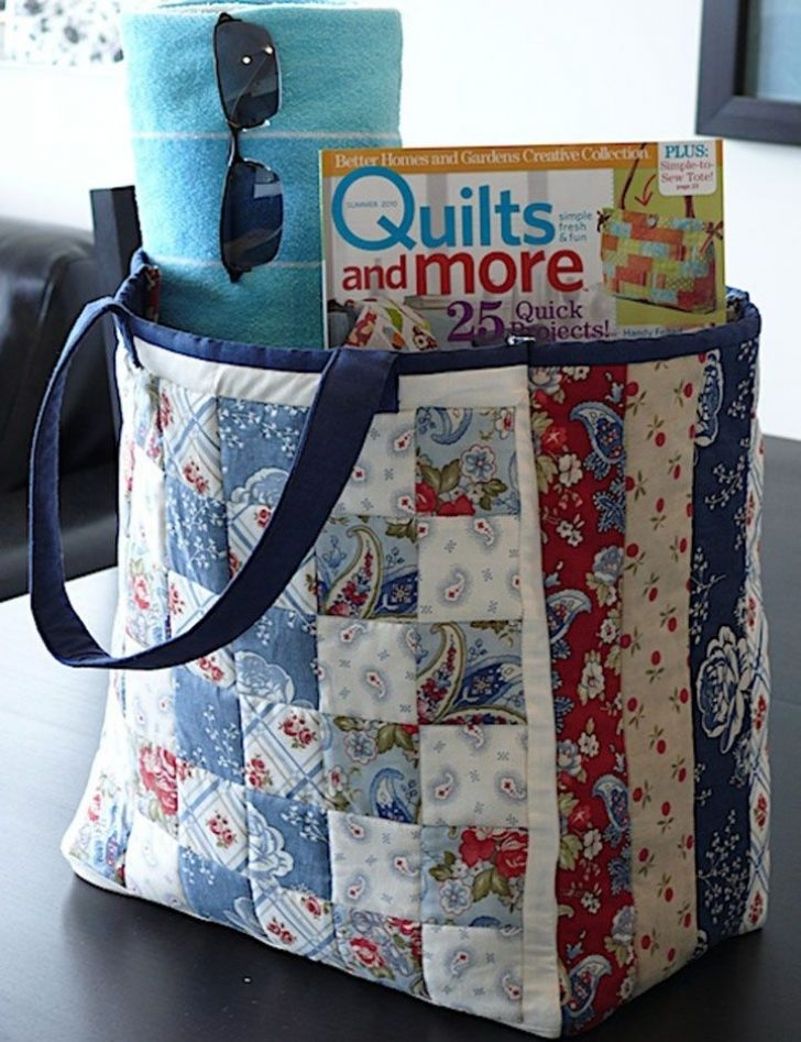 Permalink to Interesting Quilted Tote Bag Pattern Gallery