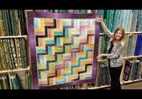 free pattern donnas modern rail fence from a jelly roll Elegant Youtube Jelly Roll Quilt Patterns Inspirations