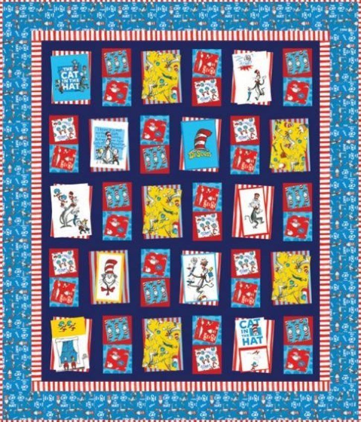 Permalink to Interesting Cat In The Hat Quilt Pattern