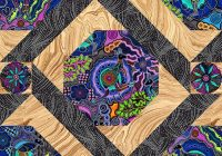 free pattern walkabout ii equilter blogequilter blog Unique Aboriginal Quilt Patterns Inspirations