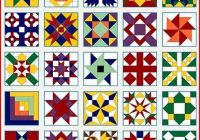 free quilt block patternsupdated 2013 quilts painted Cozy Barn Quilt Designs Patterns Inspirations