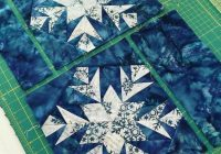 free quilt pattern snowflake quilt patterns free Stylish Snowflake Quilt Patterns