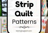 free quilt patterns using strips 50 free strip quilt Elegant Quilt Patterns Using Strips