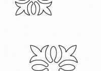 free quilting stencils hawaiian quilt stencil print Unique Quilting Stencil Patterns Inspirations