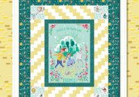 free quilts patterns riley blake designs Cozy Panel Quilt Patterns