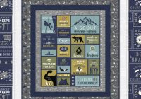 free quilts patterns riley blake designs Cozy Southwest Serenity Quilt Pattern Gallery