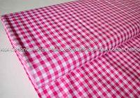 fuchsia 14 plaid cottoncarolina ginghamraspberry yarn 10 Stylish Gingham Quilting Fabric Inspirations