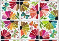 garden party quilt pattern laura heine for fiberworks lhfw gp Interesting Garden Party Quilt Pattern