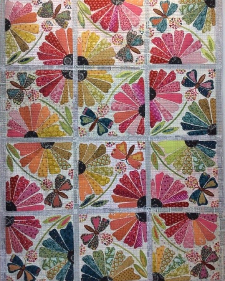Permalink to Interesting Garden Party Quilt Pattern