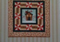 gingerbread house quilt the birdhouse pattern Cool Gingerbread Quilt Pattern Gallery