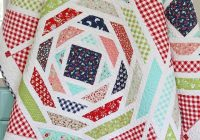 good morning lovelies all vintage picnic precuts have been Modern Vintage Picnic Quilt Gallery