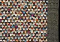 grandmothers flower garden quilt honeycomb hexagon quilts Cozy Hexagon Quilts Layout
