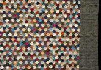 grandmothers flower garden quilt honeycomb hexagon quilts Unique Hexagon Flower Quilt Pattern Inspirations