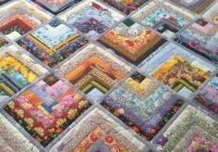 half log cabin great fabric cabin fabric great log Half Log Cabin Quilt Pattern