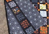 halloween quilt theme or favorite afghans halloween Stylish Halloween Quilting Patterns Gallery