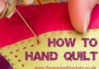 hand quilting Elegant Hand Quilting Stitch Patterns Inspirations