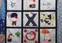 hello kitty quilt christmas presenti customized blocks to Modern Hello Kitty Quilt Block Pattern Gallery