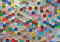 hexagon quilt pattern free quilt patterns Unique Hexagon Quilting Patterns