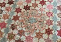 hexagon star a day pattern karen styles includes 3 piece Elegant Hand Pieced Quilt Patterns