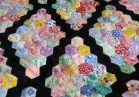 hexagon ufo quilt top martha washington setting i believe Stylish Patchwork Hexagons Patterns Quilt Inspirations