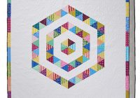 hi hexie piece it clever with our easy triangle quilt tutorial Modern Quilting With Triangles