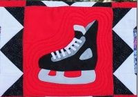 hockey quilt patterns tamarack shack hockey skate quilt Hockey Quilt Pattern