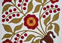 how to applique invisible machine applique instructions and Cozy Hand Applique Quilt Patterns