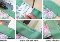 how to bind a quilt machine quilt binding tutorial 10 Beautiful Sewing Binding On Quilt Corners