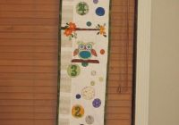 how to make a fabric growth chart free bluprint tutorial Cool Quilted Growth Chart Pattern Inspirations