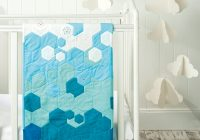 how to make a patchwork quilt ombr hexagon quilting Stylish Patchwork Hexagons Patterns Quilt Inspirations