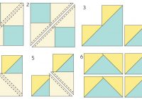 how to make a perfect flying geese quilt block the Cozy Easy Flying Geese Quilt Pattern