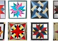 how to make barn quilts plywood guide theplywood Stylish Barn Quilt Patterns Inspirations