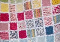 how to make rag quilts 32 tutorials with instructions for Rag Quilt Patterns Instructions Inspirations