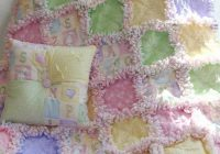 how to make the easiest ba rag quilt sew what ba Quilt Patterns Pictures Of Rag Quilts Inspirations