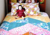 how to patchwork duvet cover my poppet makes Interesting Single Bed Patchwork Quilt Patterns Gallery