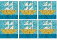 how to quilt block a 12 sailboat Elegant Sailboat Quilt Block Pattern Inspirations