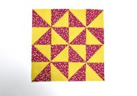 how to sew a pinwheel quilt block with half square triangles Interesting Windmill Quilt Block Pattern Gallery