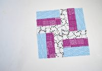 how to sew a traditional rail fence quilt block Elegant Railroad Quilt Block Pattern