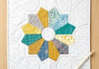 how to sew dresden plates free templates tutorial love Unique Dresden Plate Quilt Patterns Inspirations