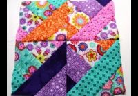 how to sew quilt squares using jelly roll video one Cozy Jelly Roll Quilt Patterns Youtube Inspirations