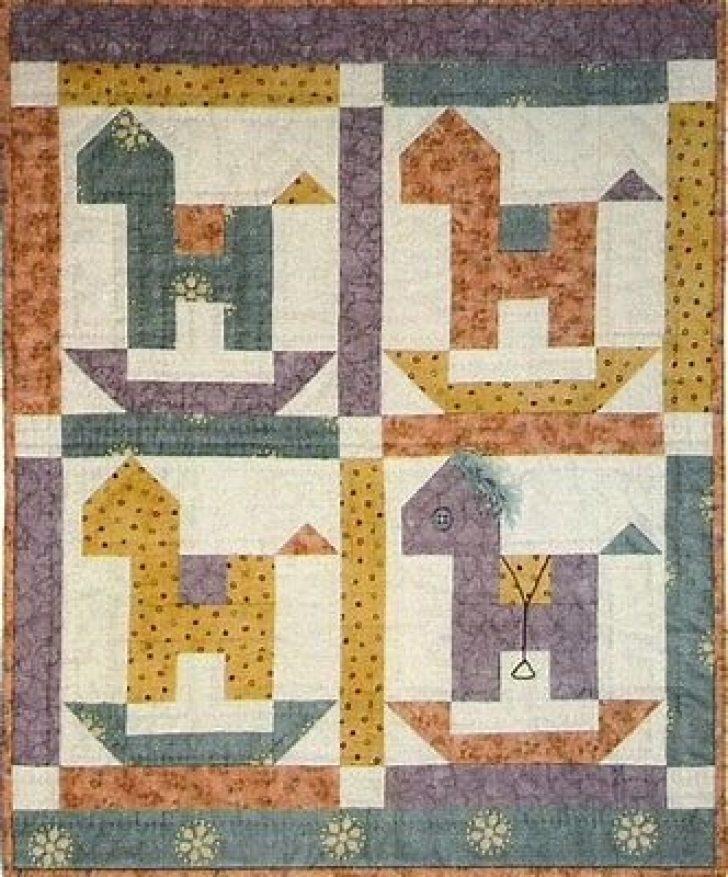 Permalink to Elegant Rocking Horse Block Quilt Pattern Inspirations