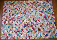 image result for scrappy disappearing 9 patch jenna Modern Scrappy Disappearing 9 Patch Quilt