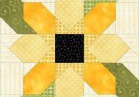 image result for sunflower quilt block patterns 12 quilt Cozy Sunflower Quilt Patterns Free