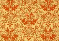 ink arrow willow damask goldorange fabric Interesting Unique Damask Quilting Fabric