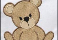 instant download teddy bear applique designs appliques for Unique Teddy Bear Applique Quilt Pattern Inspirations