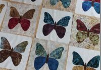 Interesting butterflies butterfly quilt pattern applique quilts 10 Unique Butterfly Quilt Pattern Block