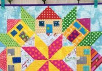 Interesting create a bit of whimsy with this mini houses quilt 9 Beautiful House Quilt Pattern