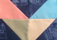 Interesting easy chevron quilt block tutorial patchwork posse Beautiful Chevron Quilt Pattern No Triangles Inspirations