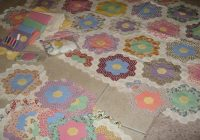 Interesting grandmothers flower garden quilt daves garden 10 Modern Grandmother Flower Garden Quilt Pattern Gallery