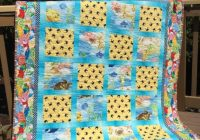Interesting handmade beach themed quilt 50 in x 61 in Cool Beach Themed Quilt Patterns